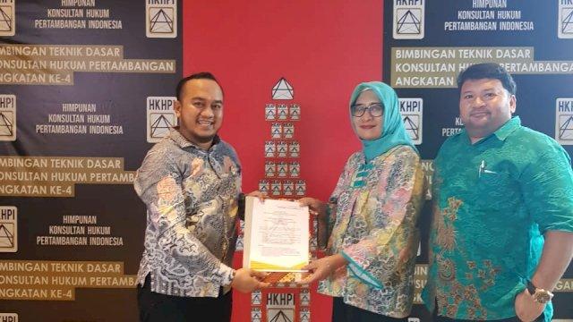 Advokad Muda Makassar, Sulaiman Syamsuddin Mendapat Mandat Bentuk Pengurus HKHPI Sulsel