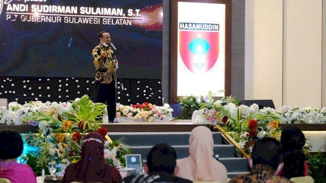 Lepas Sambut Pangdam Hasanuddin, Plt Gubernur Sulsel : Selamat Datang Mayjen TNI Mochamad Syafei