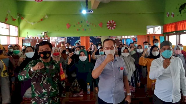 64 Detector kelurahan Lembo Siap Sukseskan Makassar Recover
