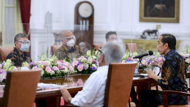 Presiden Jokowi Diskusikan Pembangunan Ibu Kota Baru dengan Sejumlah Perwakilan Asosiasi Profesi