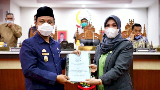 Paripurna LKPJ 2020, Plt Gubernur Sulsel Minta OPD Perhatikan Rekomendasi dan Saran DPRD