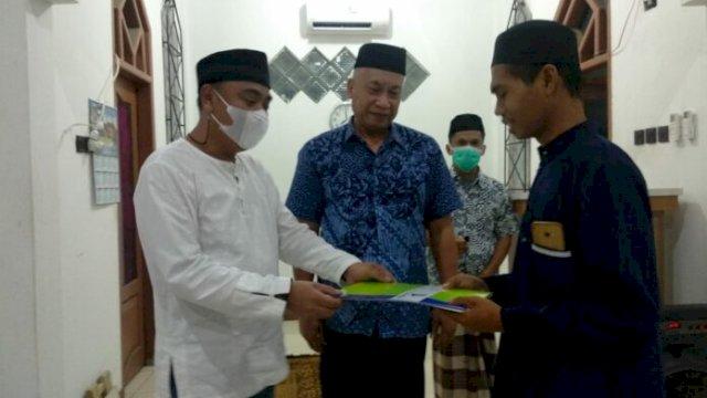 Alhamdulillah, Bank Sulselbar Cabang Palopo Sumbang Dana Operasional untuk Masjid Ulil Amri
