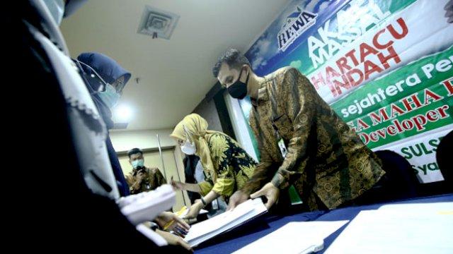 Bank Sulselbar Syariah dan Tiga Maha Rewa Gelar Akad Massal