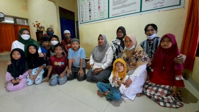 Alumni 98 SMU Negeri 13 Makassar Bukber dan Berbagi di Panti Asuhan