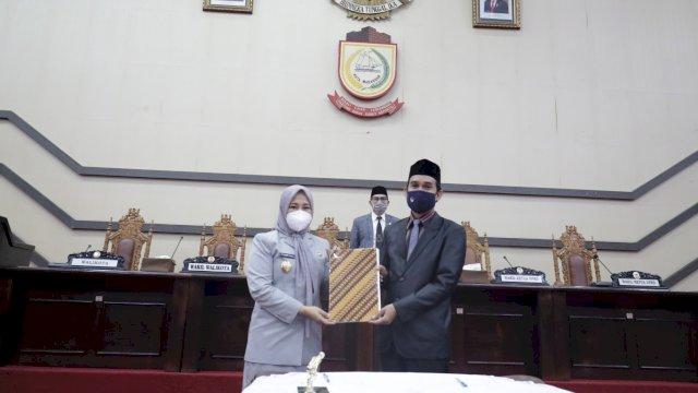 DPRD Makassar Sampaikan Tanggapan Terhadap LKPJ Walikota Tahun 2020