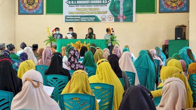 Andi Nurhidayati Komitmen Support Program NU Soppeng