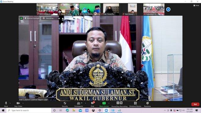 Buka Acara Lomba Tahfidz Al-Qur'an dan Haditz, Ini Harapan Plt Gubernur Sulsel