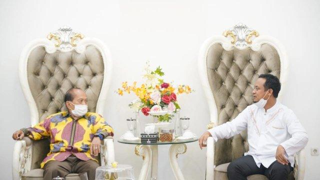 Wakil Ketua MPR Syarief Hasan : Demokrat Dukung Penuh Pemerintahan Plt Gubernur Sulsel