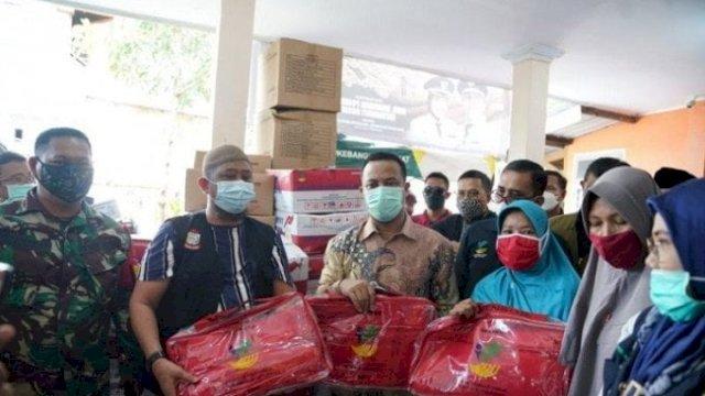 Pemprov Sulsel Sigap Bantu Korban Kebakaran Tinumbu, Siapkan Makan Sahur Hingga Toilet
