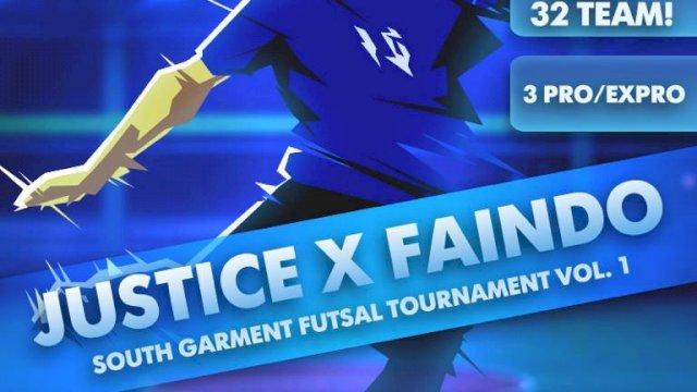 Turnamen Futsal Kedai Ayah UQ-Faindo South Garment Berhadiah Puluhan Juta Rupiah
