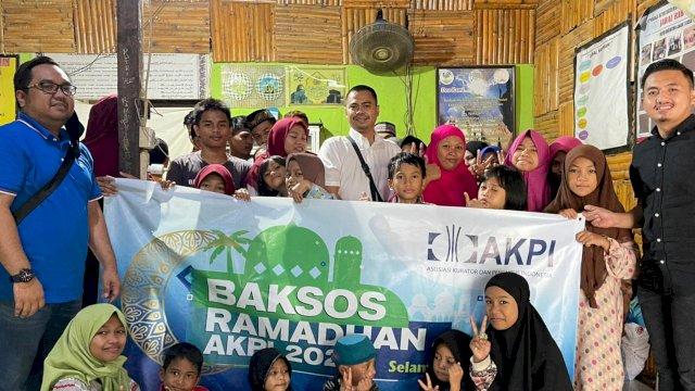 AKPI Berbagi Berkah Ramadan di Makassar