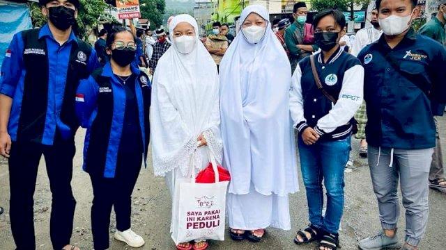 Indahnya Toleransi, Pemuda Gereja Toraja Kawal Salat Idulfitri dan Bebersih Masjid