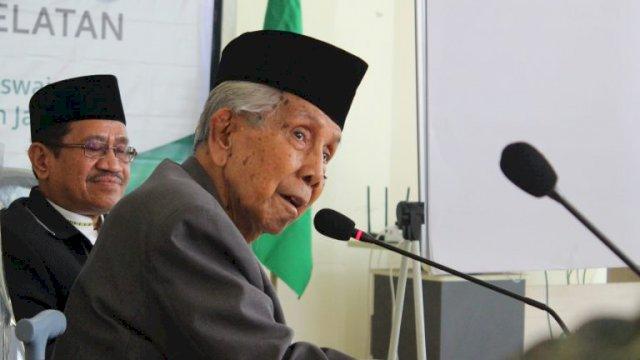 Kakanwil Kemenag Sulsel: AGH Sanusi Baco Suri Teladan bagi Masyarakat Indonesia