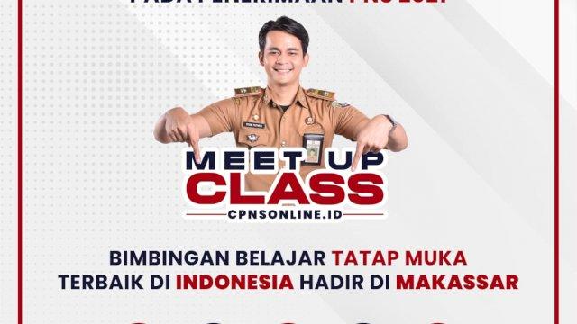 Bimbel Cpnsonline.id Tawarkan 'Meet Up Class' Persiapan Tes CPNS 2021 Lulus Murni!