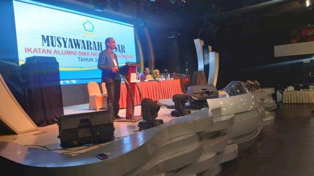 Rudianto Lallo Terpilih jadi Ketua IKA SMA 6 Makassar, Hotel Claro, Sabtu (29/5/2021)