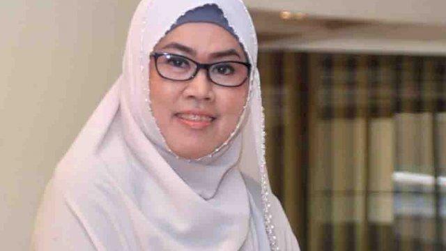 Rektor Universitas Islam Makassar (UIM) Dr Ir A Majdah M Zain.