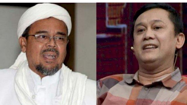 Habib Rizieq Shihab dan Denny Siregar