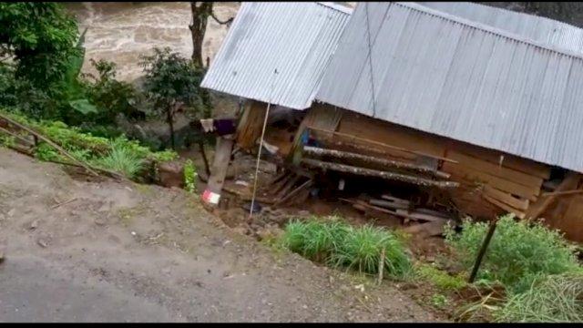 Satu Rumah di Sinjai Amblas Terseret Arus Sungai, Plt Gubernur: Korban Sudah dapat Perhatian Khusus