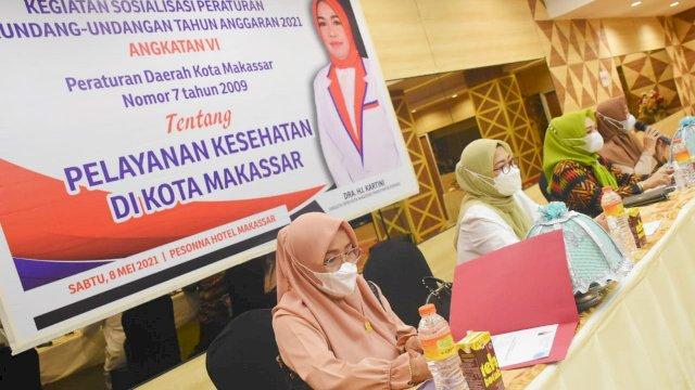 HJ Kartini Sosialisasi Perda Pelayanan kesehatan