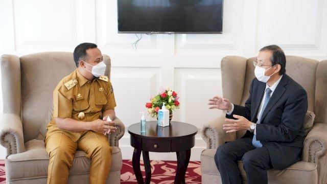 Terima Kunjungan Kepala Konsuler Jepang yang Baru, Plt Gubernur Sulsel Harap Kerjasama Terus Terjalin