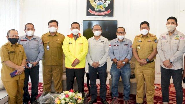 Agus Arifin Nu'mang sambangi Andi Sudirman di Kantor, Bahas Open Road Expedition