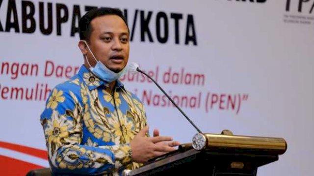 Pelaksana Tugas (Plt) Gubernur Sulawesi Selatan (Sulsel), Andi Sudirman Sulaiman.