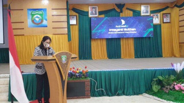 Bank Sulselbar luncurkan Aplikasi Simpada di Kabupaten Pangkep, Kamis 3 Juni 2021.