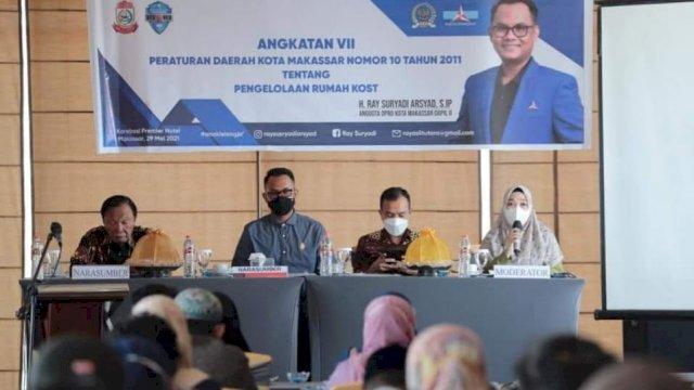 Anggota DPRD Ray Suryadi Tekankan Pentingnya Perda Rumah Kost