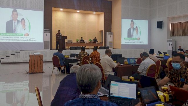 Pembukaan Refreshment Dosen Pengajar PPG FTK UIN Alauddin Makassar, Selasa 2 Juni 2021.