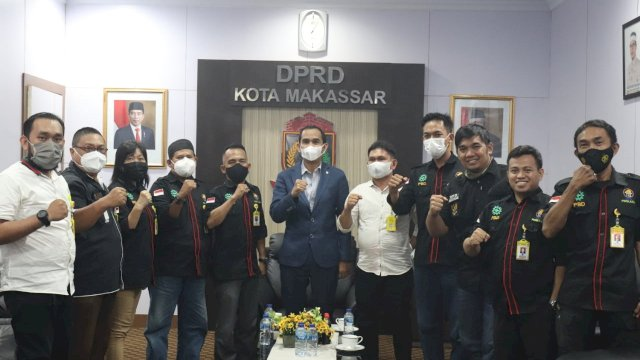 Ketua DPRD Makassar dan Dewan Pertukangan Nasional (DPN) Makassar