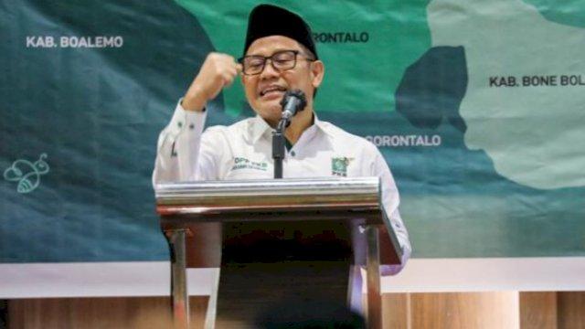 Ketua Umum Partai Kebangkitan Bangsa (PKB) Abdul Muhaimin Iskandar atau Gus AMI