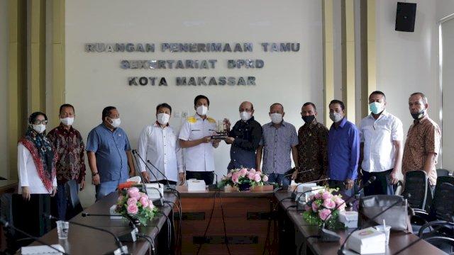 DPDR Kota Makassar menerima kunjungan kerja dari sejumlah DPRD di berbagai daerah.