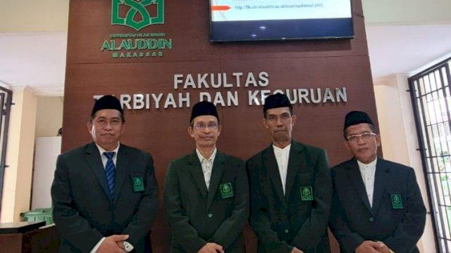 Jajaran Pimpinan Fakultas Tarbiyah dan Keguruan UIN Alauddin Makassar (Foto: Ist)