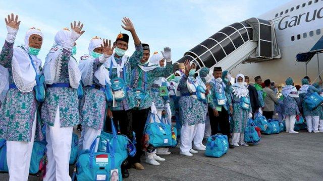 Jemaah Haji Indonesia (Foto: Media Indonesia)