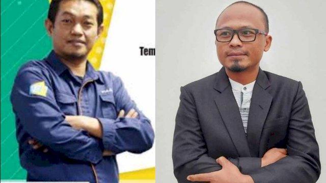 Rasyid Al Faridzi/ Ketua SMSI Sulsel dan Wibowo Sulsilo/ Ketua SMSI Bengkulu (ist)