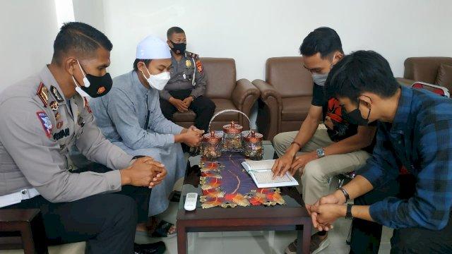 Pengguna Knalpot Bising di Bone dihukum baca Al-Qur'an, Selasa, 27 Juli 2021.