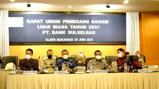 Tiga Poin Ini yang Dibahas di RUPS LB 2021 Bank Sulselbar
