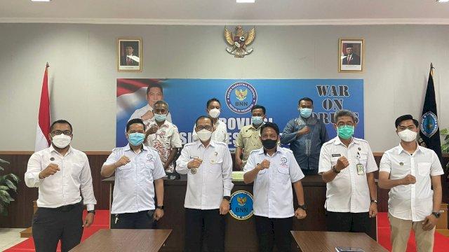 BNNP-KIPAN Sulsel Siap Bersinergi Wujudkan Indonesia Bersih Narkoba