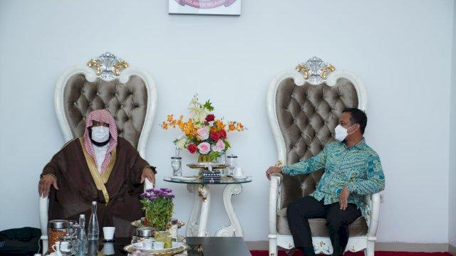 Dikunjungi Penasehat Dubes Arab Saudi untuk Indonesia, Plt Gubernur Cerita Peluang Investasi di Sulsel
