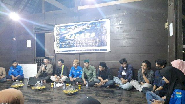 Mapaba PMII FUFP UIN Alauddin Cabang Makassar Dihadiri Dekan