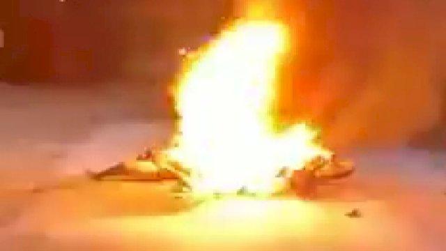 Innalillah Pemotor Ini di Gowa Tewas Terbakar Usai Isi BBM di SPBU, Begini Kronologinya