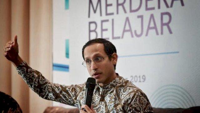 Menteri Pendidikan, Kebudayaan, Riset dan Teknologi (Mendikbudristek) Nadiem Makarim.