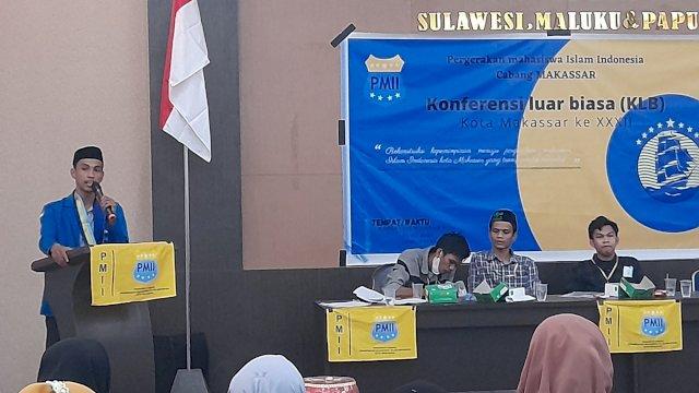 6 Komisariat dan 29 Rayon Mendukung, Muhammad Ilham Pimpin PMII Makassar