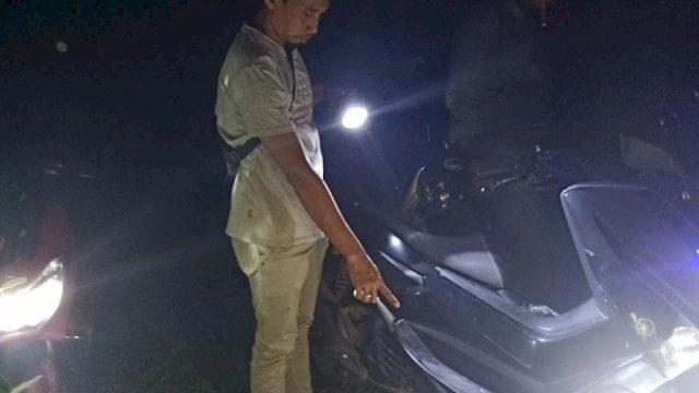 Titik Kamaruddin ditemukan kritis penuh luka di Kawasan Inhutani Parangloe, Kabupaten Gowa, Selasa, 31 Agustus 2021.