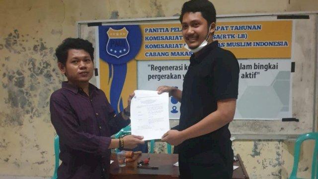 Terpilih Aklamasi, Mansur Usman Pimpin PMII Universitas Muslim Indonesia