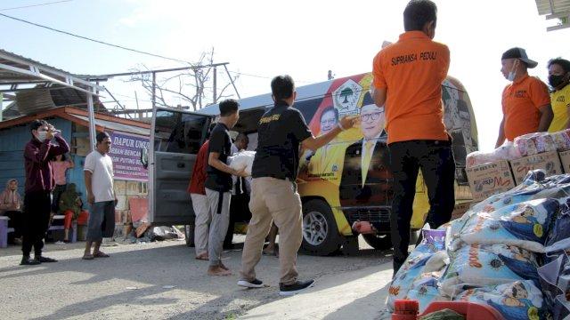 Bantu Korban Puting Beliung, Warga Botto-Wajo: Terima Kasih Supri