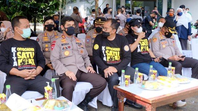 Vaksinasi massal di Halaman Monumen Mandala, Makassar, Kamis, 2 September 2021