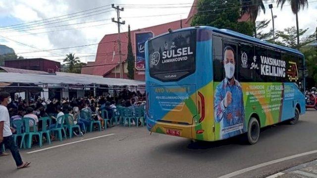 Mobil Vaksinator masuk Tana Toraja dan Toraja Utara.