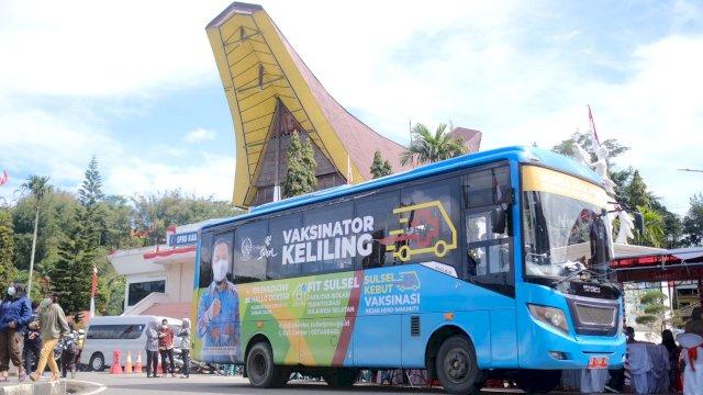 Mobile Vaksinator masuk di Kabupaten Tana Toraja (Tator) dan Toraja Utara (Torut).