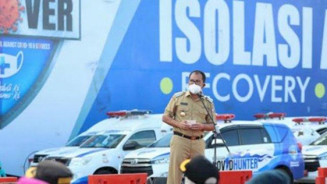 Wali Kota Makassar, Moh Ramdhan 'Danny' Pomanto berencana menghentikan program isolasi apung kapal milik Pelni, KM Umsini Foto: Instagram